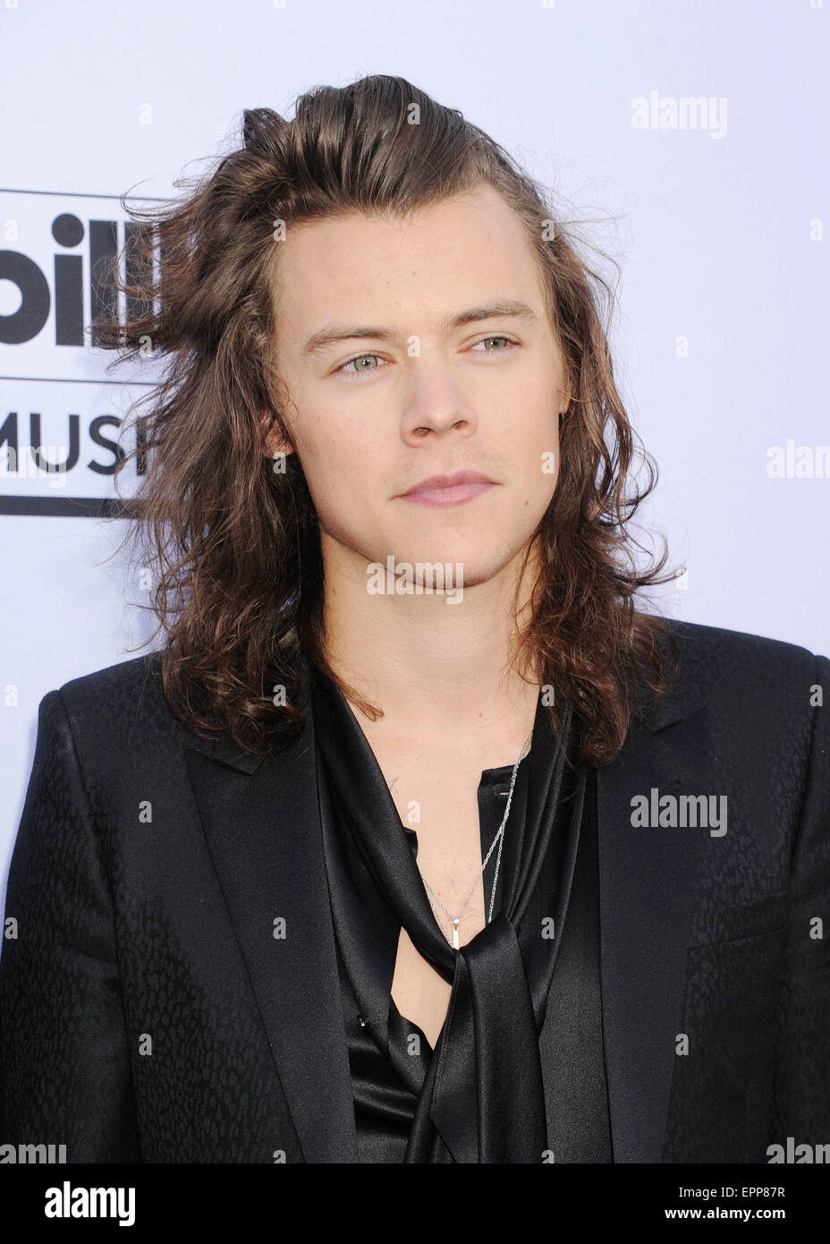 ONE DIRECTION  Harry Stiles in May 2015 at the Billboard Awards in Las Vegas - Stock Image