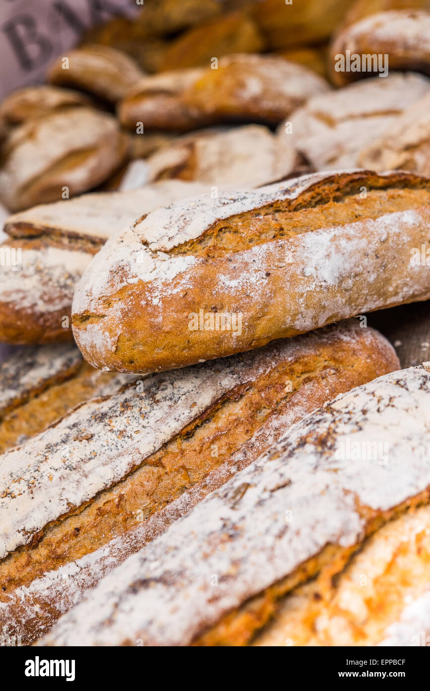 Daily bread - Stock Image