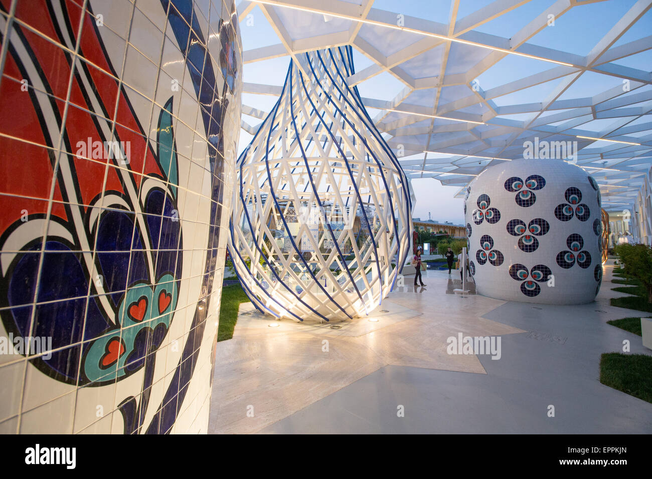 Turkey pavilion, Expo 2015 Milan - Stock Image