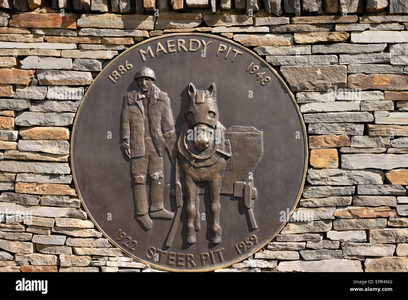 Sign at the entrance to the Aman Valley Trotting club - Stock Image