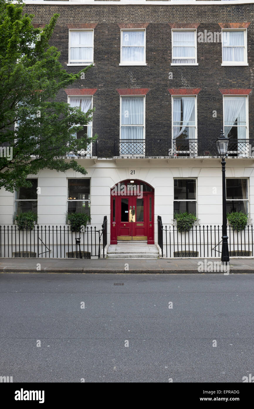 The Penn Club Hotel Bedford Place London - Stock Image