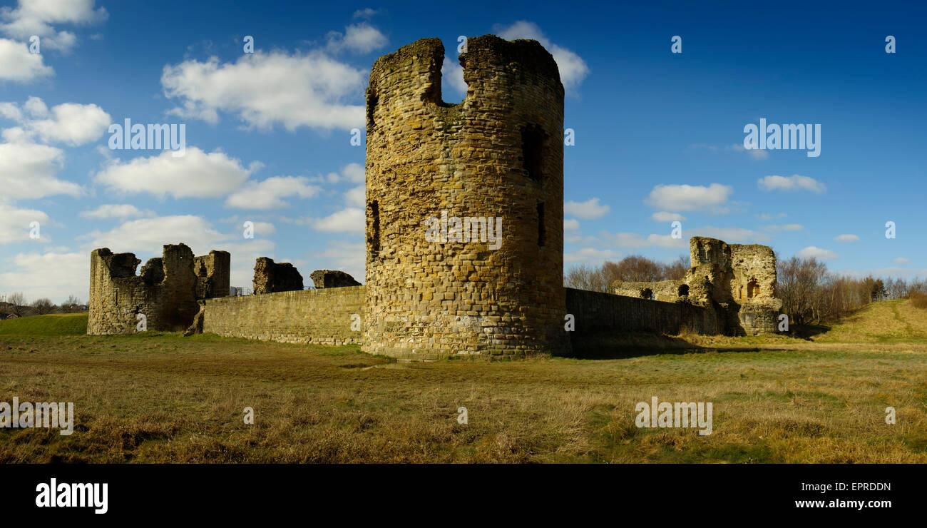 Flint Castle, Flintshire - Stock Image