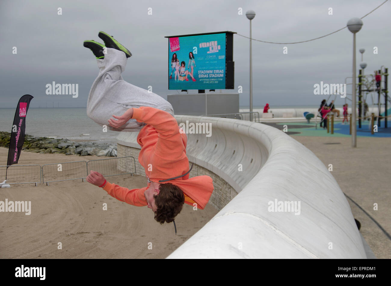 ree Runner, Eirias Watersports Centre, Colwyn Bay - Stock Image
