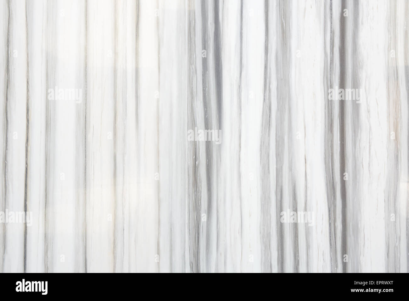 White And Gray Striped Marble Texture Background Stock