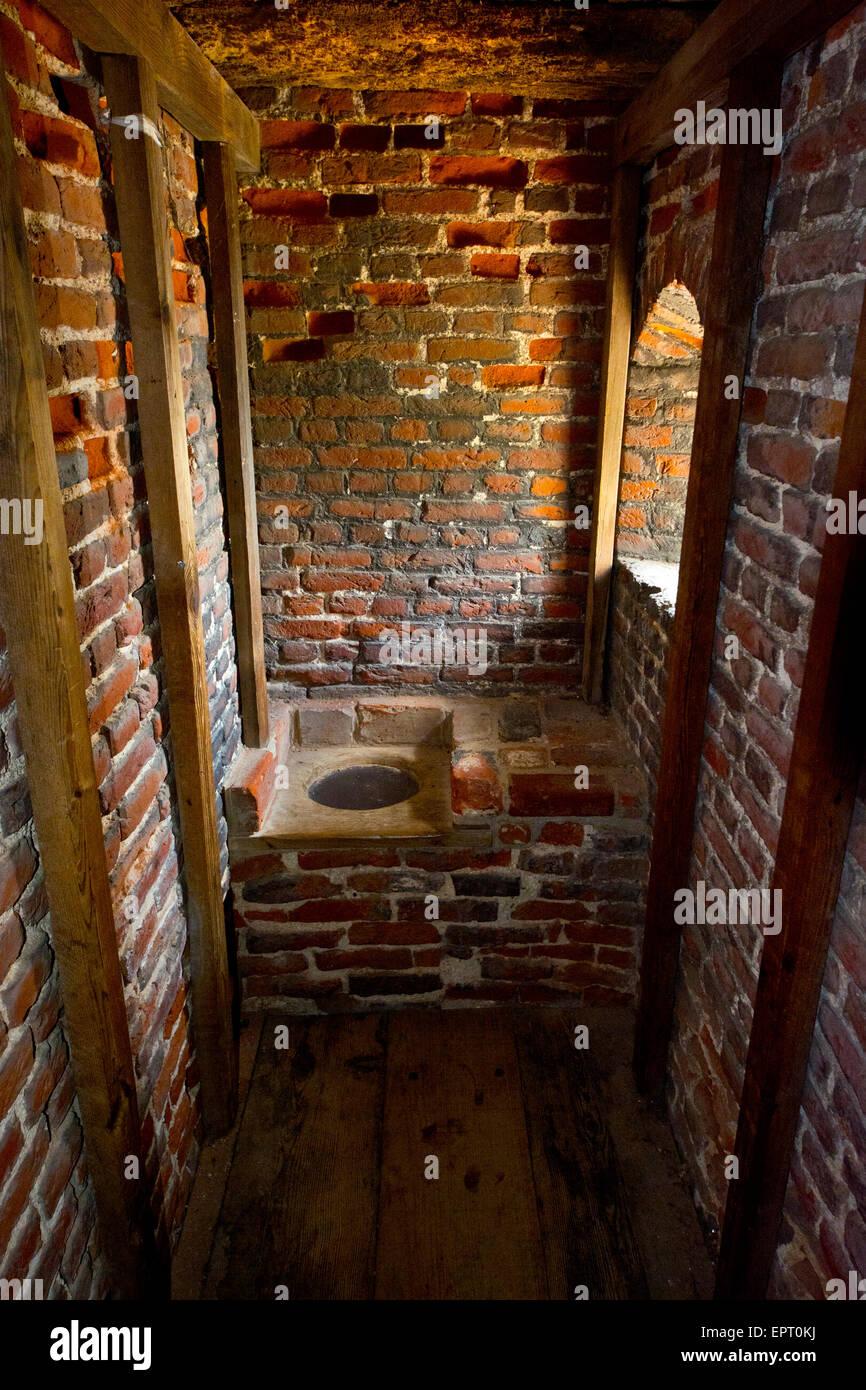 Garderobe medieval toilet Stock Photo   Alamy