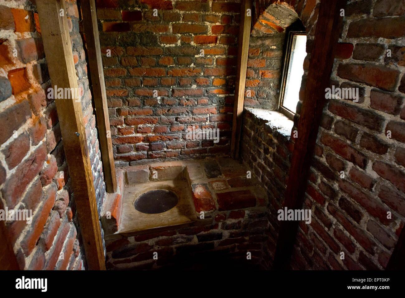 Garderobe Medieval Toilet Stock Photo 82891306