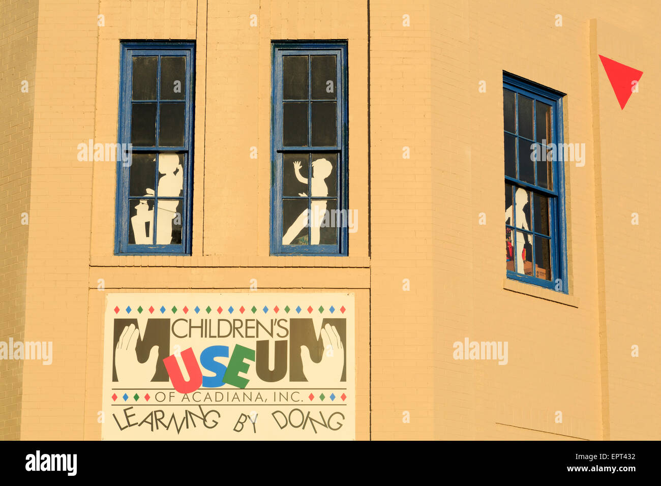 Children's Museum, Lafayette, Louisiana, USA - Stock Image