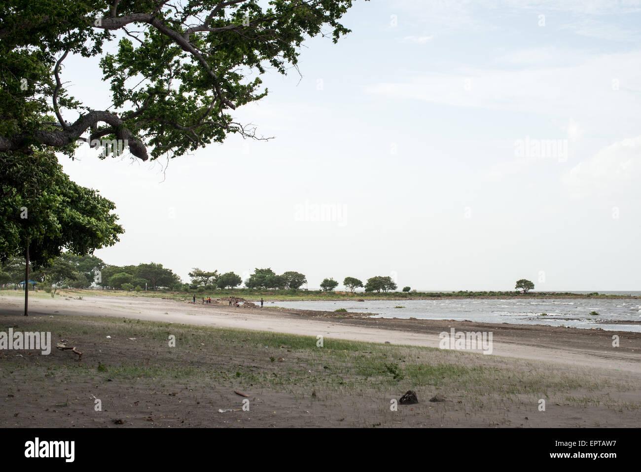 Lake Nicaragua Beach at Centro Turistico, Granada, Nicaragua - Stock Image