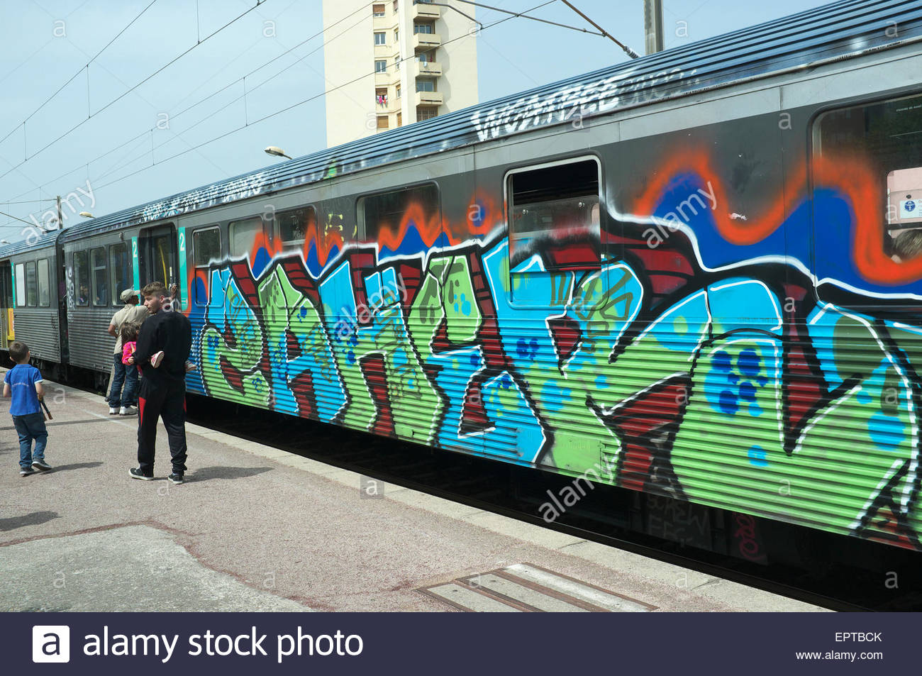 Graffiti Train Stock Photos Amp Graffiti Train Stock Images