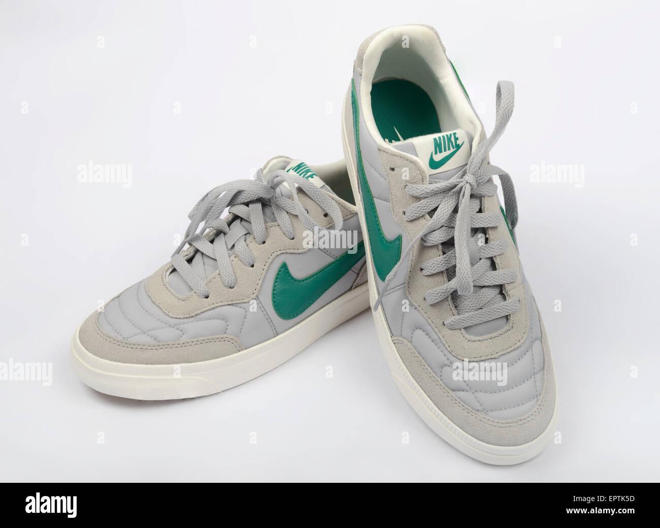 One pair of Nike walking shoe featuring