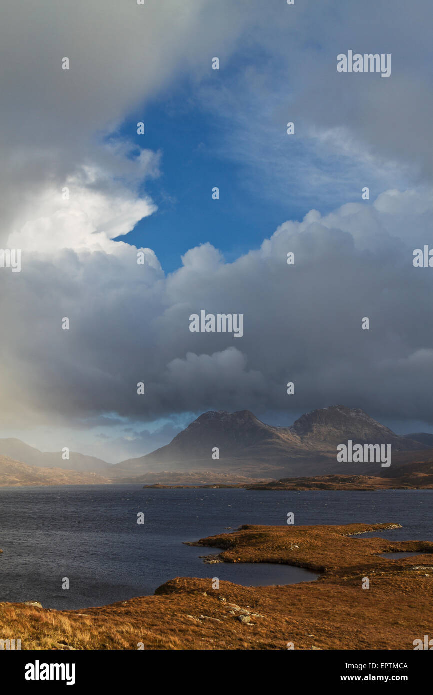 Coigach mountains, wester ross - Stock Image