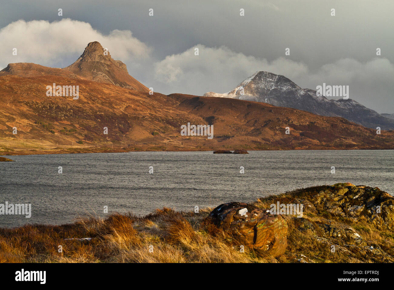 Stac Polly and Cul Beag, Wester Ross - Stock Image