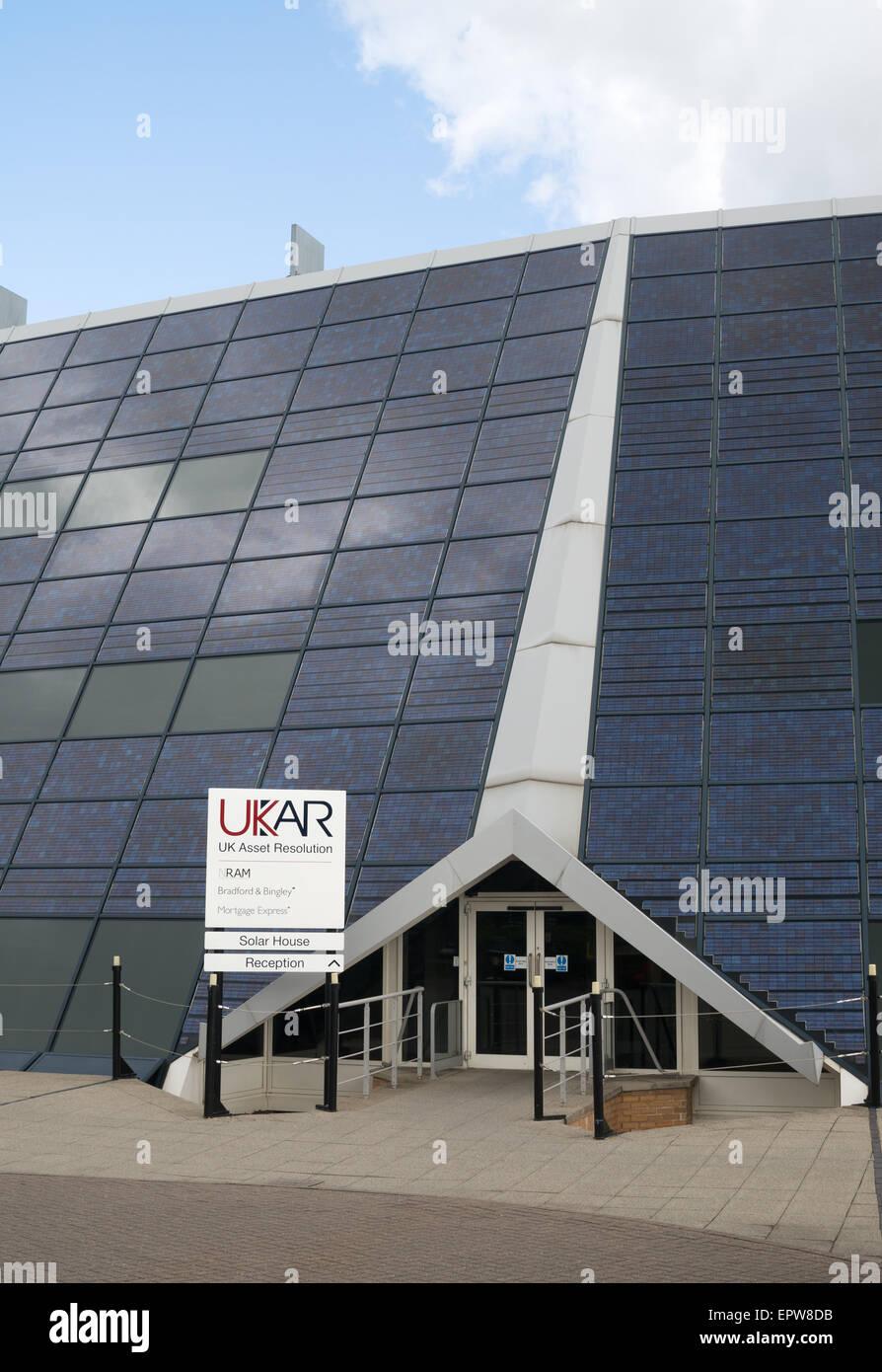 Offices of UK Asset resolution UKAR, Solar House Doxford Park, Sunderland, England, UK - Stock Image