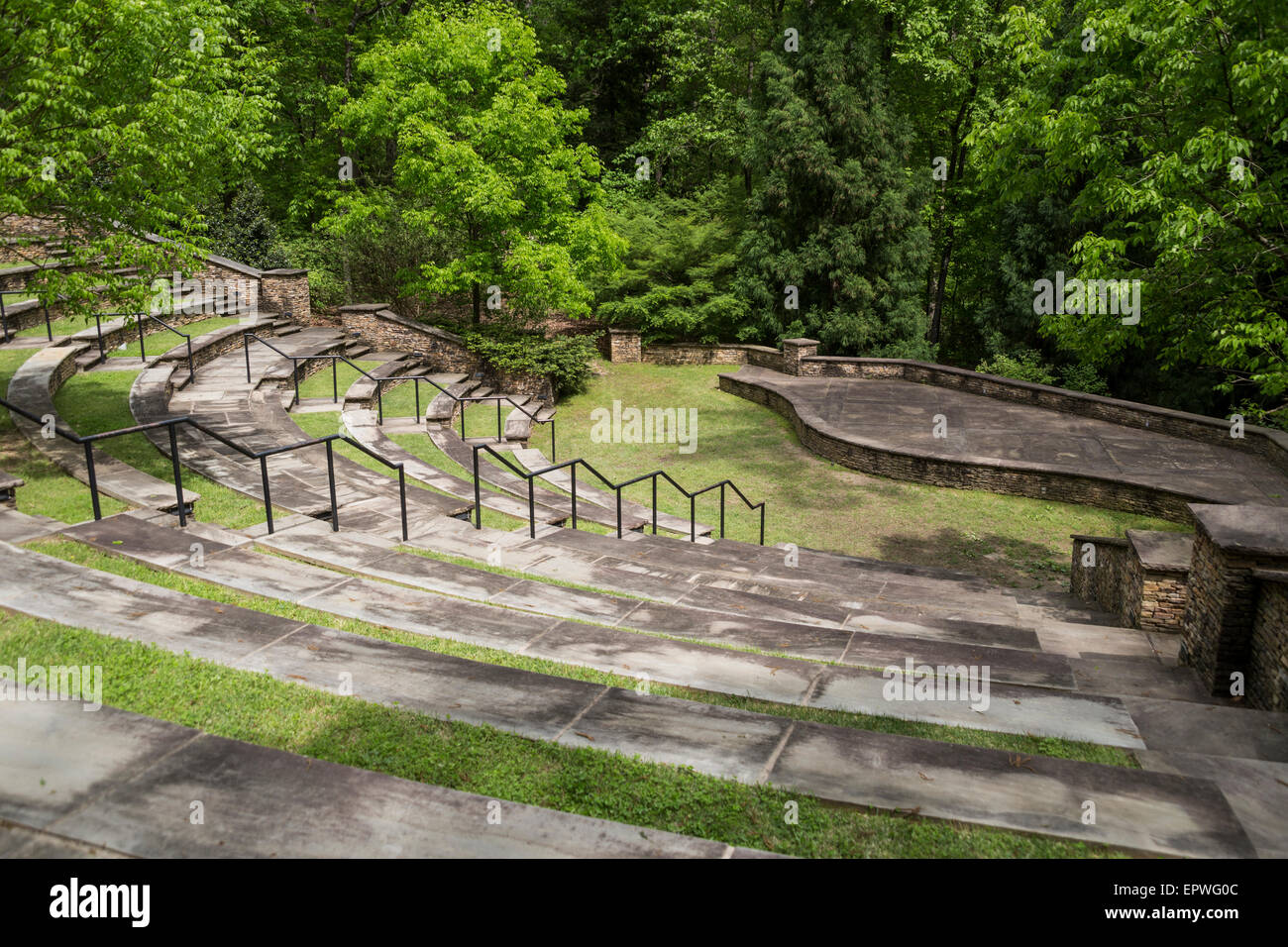 Amphitheater South Carolina Botanical Gardens Clemson South Stock Photo 82925260 Alamy