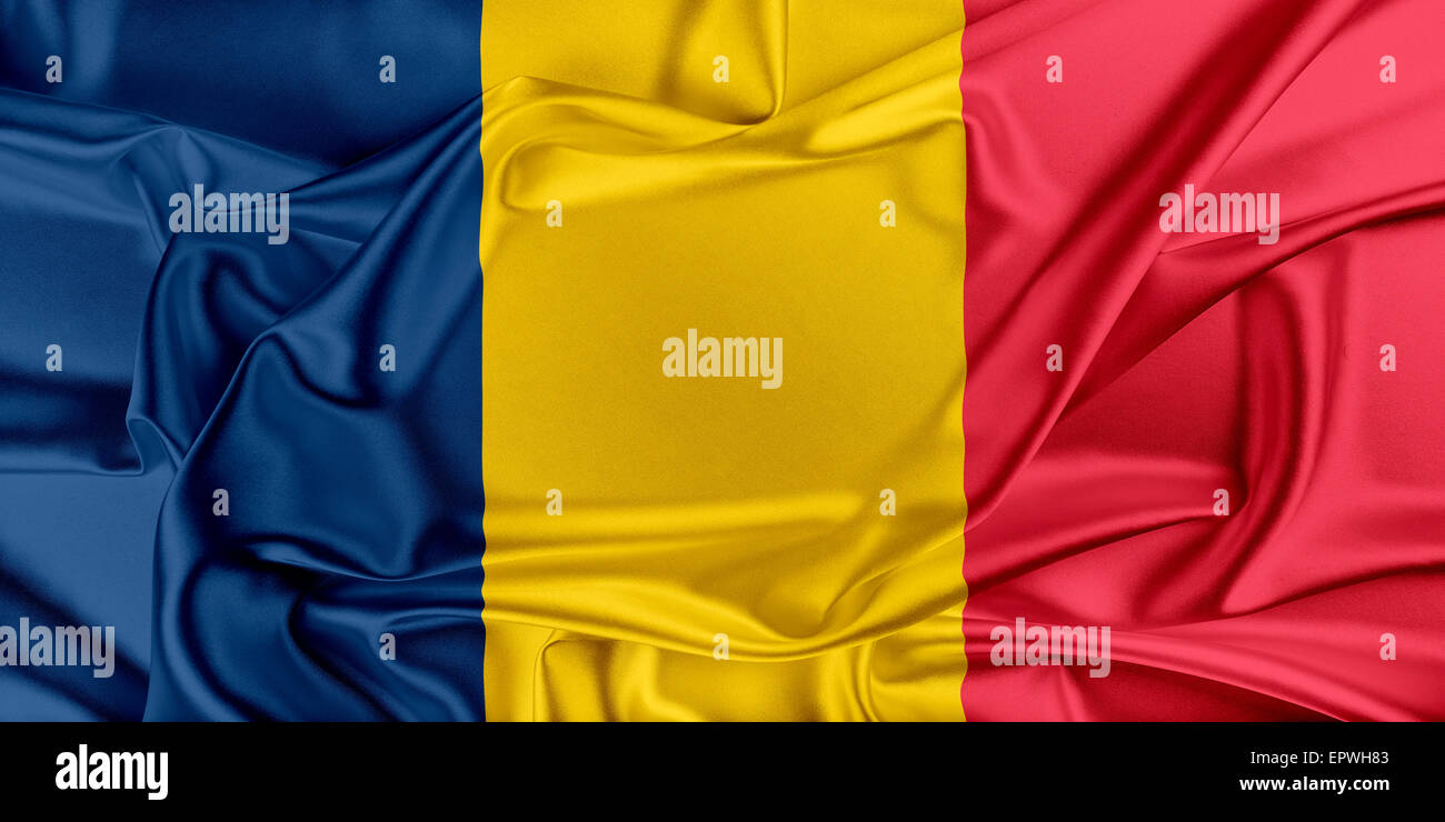 Flag of Chad - Stock Image