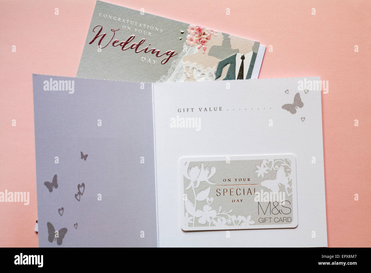 On Your Special Day Ms Wedding Gift Card Giftcard With Wedding Card
