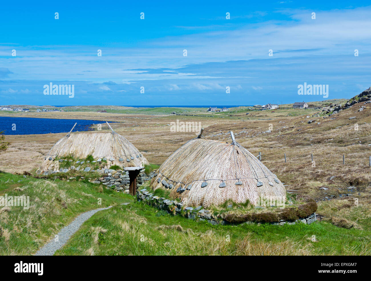 The Norse Mill & Kiln, Shawbost, Isle of Lewis, Outer Hebrides, Scotland UK - Stock Image