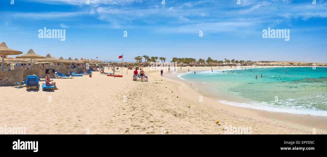Marsa Alam Beach, Red Sea, Egypt - Stock Image