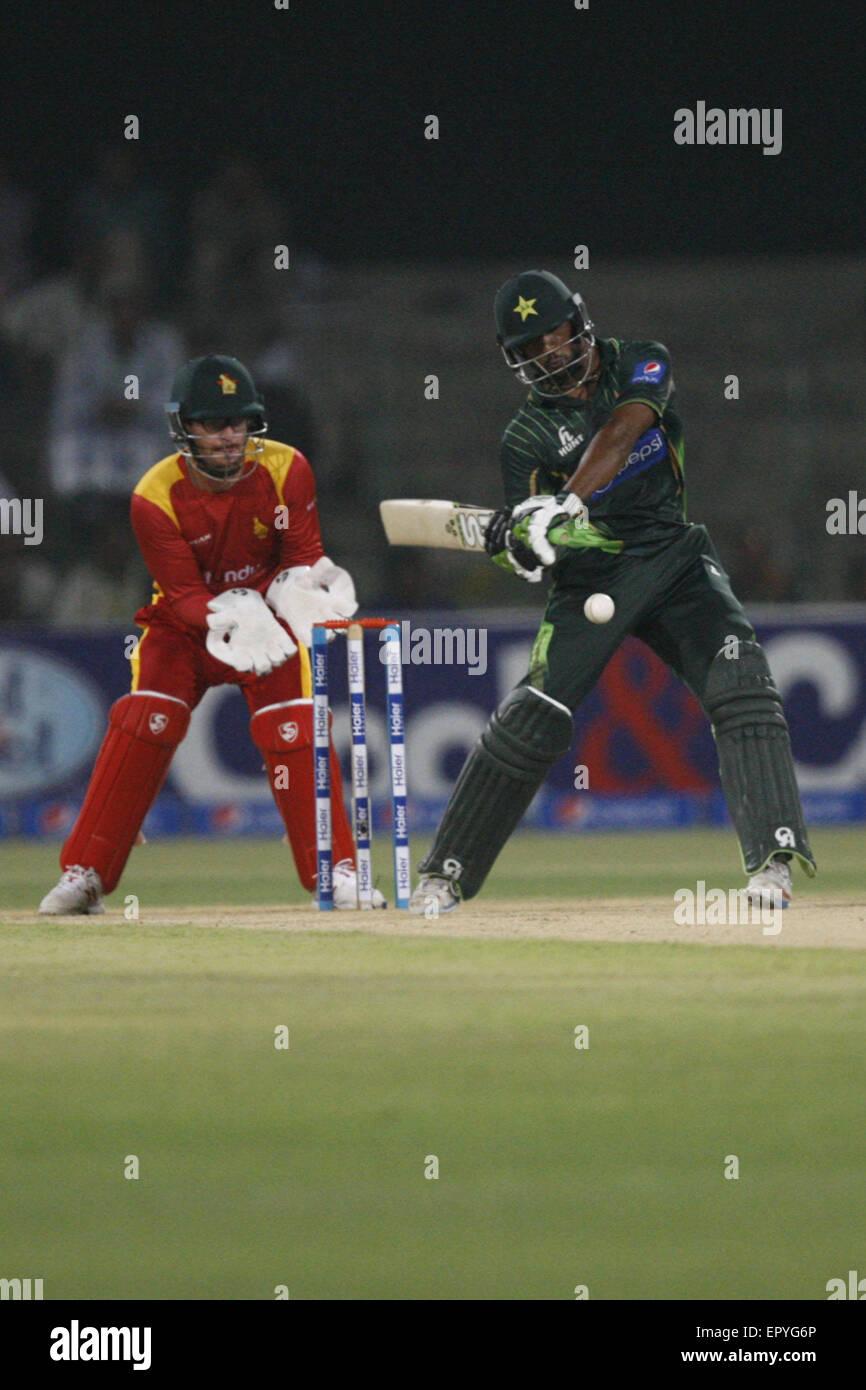 Lahore, Pakistan  22nd May, 2015  Pakistani and Zimbabwe