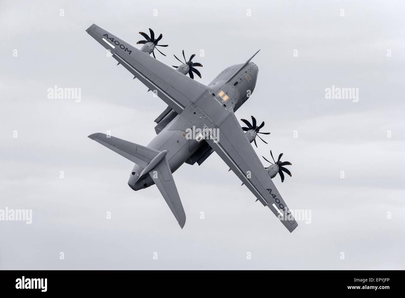 Airbus A400M Atlas transport aircraft - Stock Image