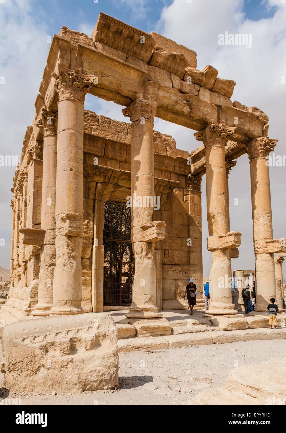 Temple of Baal Shamin - Stock Image