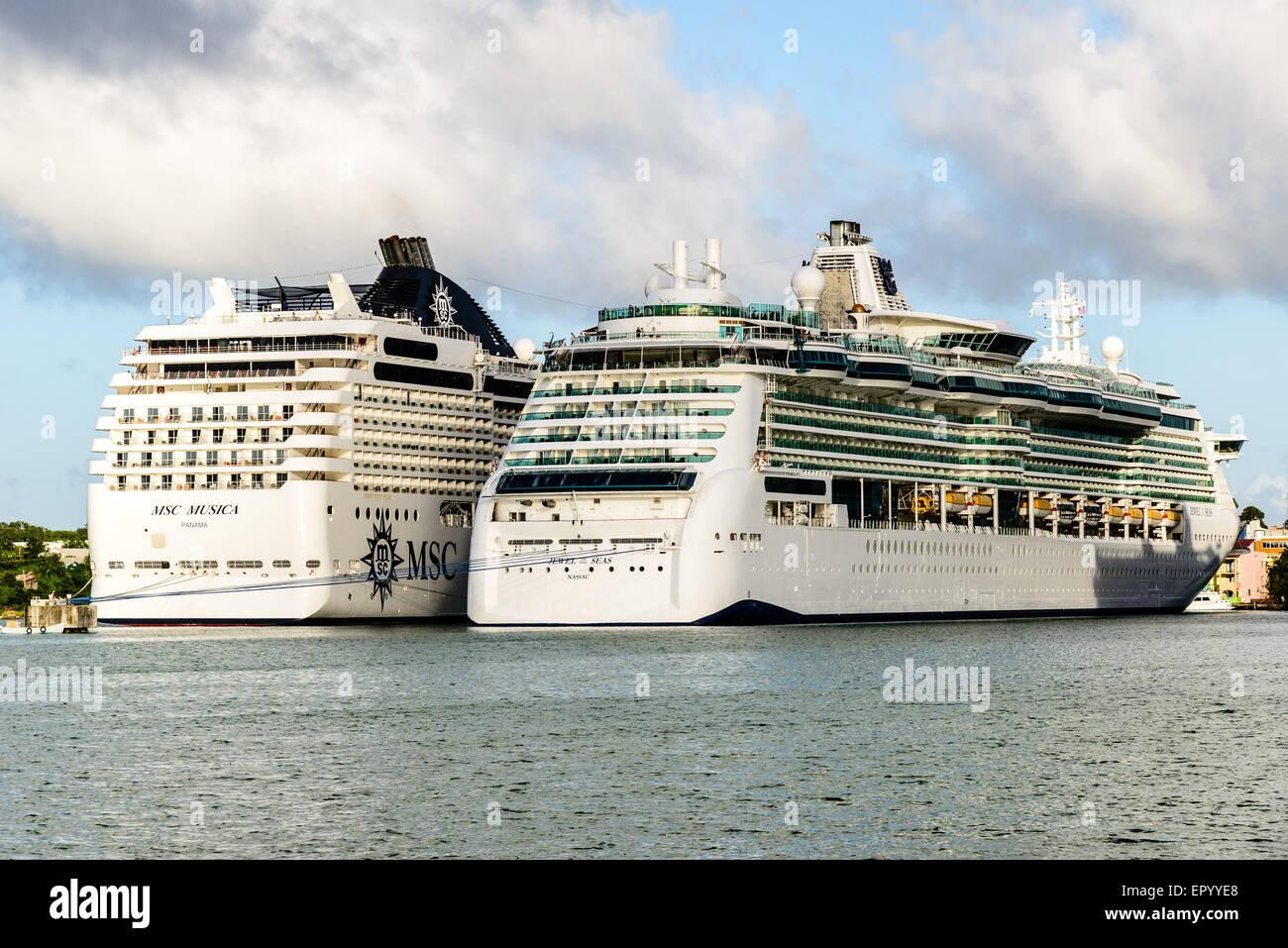 Caribbean Jewel Of The Seas Msc Cruises Musica Saint
