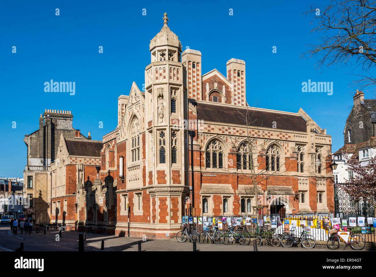 St John's College Cambridge is a college of Cambridge University - Stock Image