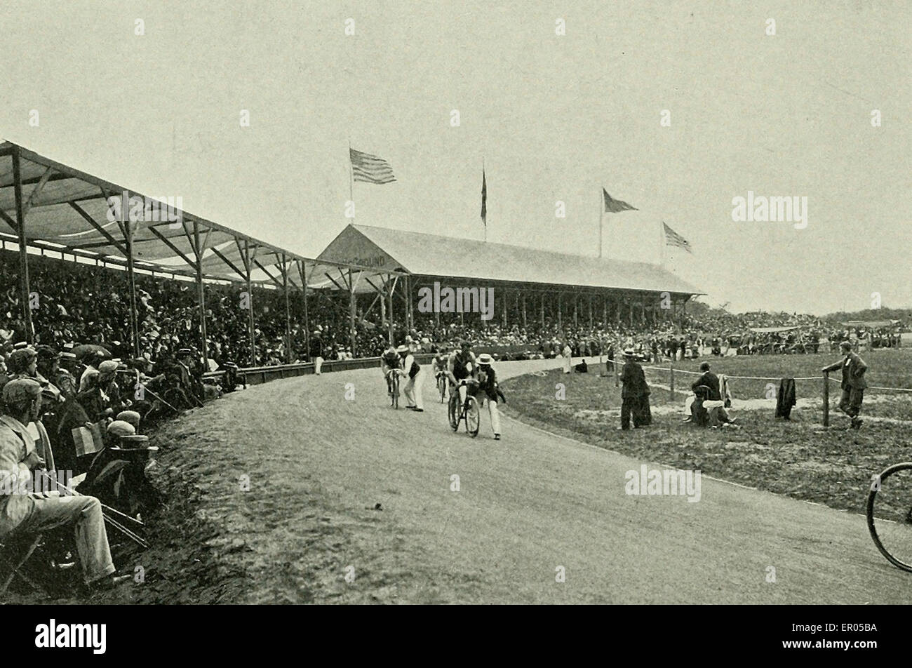The Athletic Grounds - Asbury Park, NJ 1902 - Stock Image