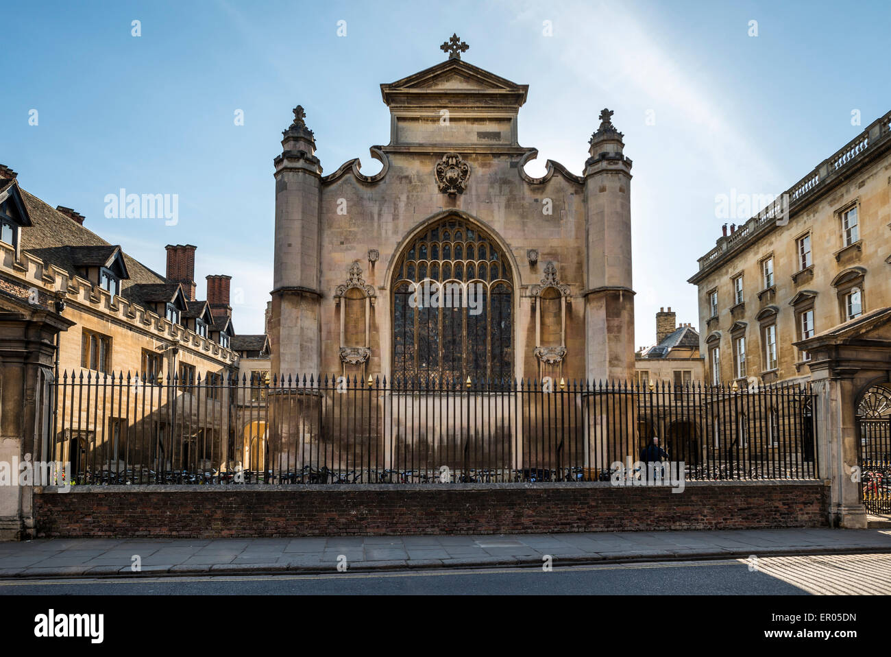 Peterhouse College is a constituent college of Cambridge University, UK - Stock Image