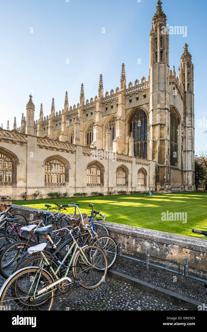 King's College is a college of the University of Cambridge, UK - Stock Image