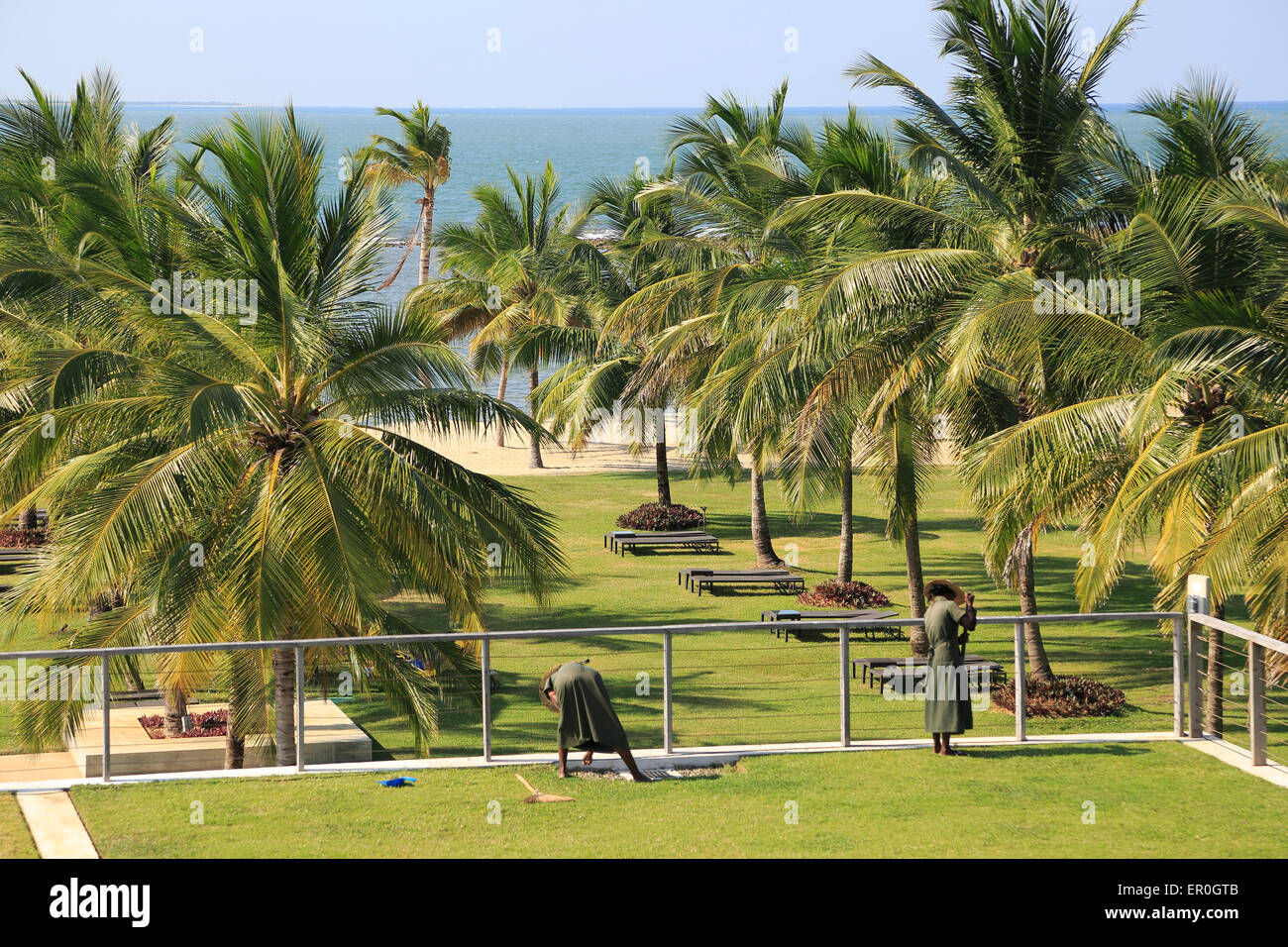 Amaya Beach Resort and Spa hotel, Pasikudah Bay, Eastern Province ...
