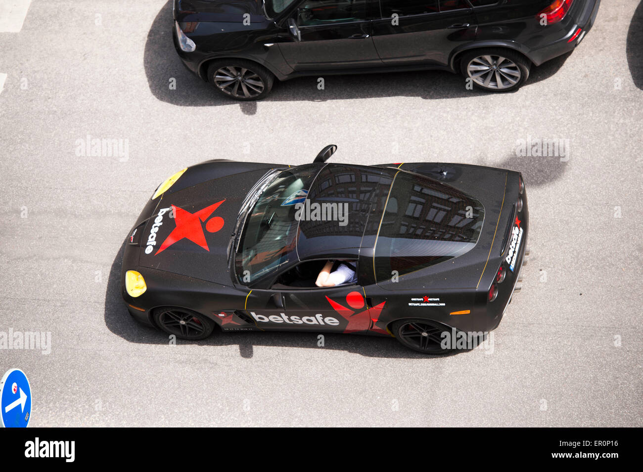 2015  Gumball 3000 Stockholm - Stock Image