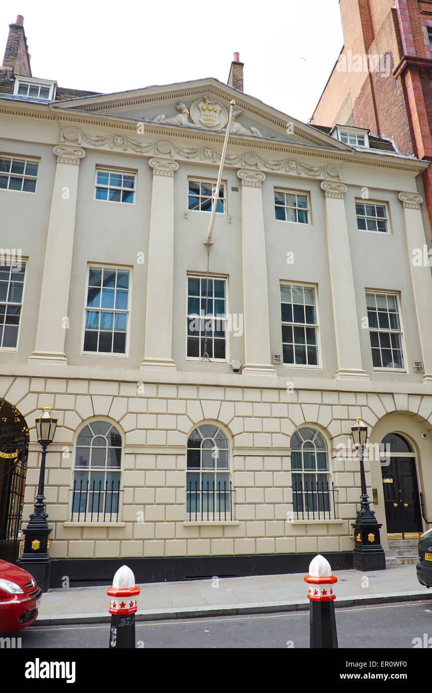 Skinners Hall Dowgate Hill London UK - Stock Image