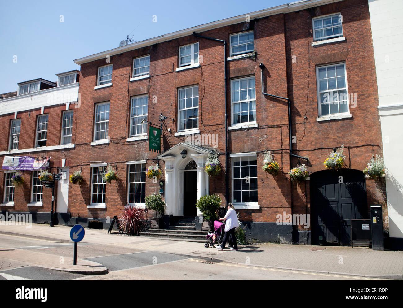 The Lord Leycester Hotel, Warwick, Warwickshire, England, UK
