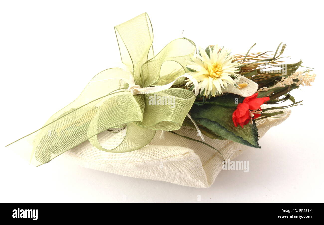 Composition small decoration for the participation in an event, party. - Stock Image