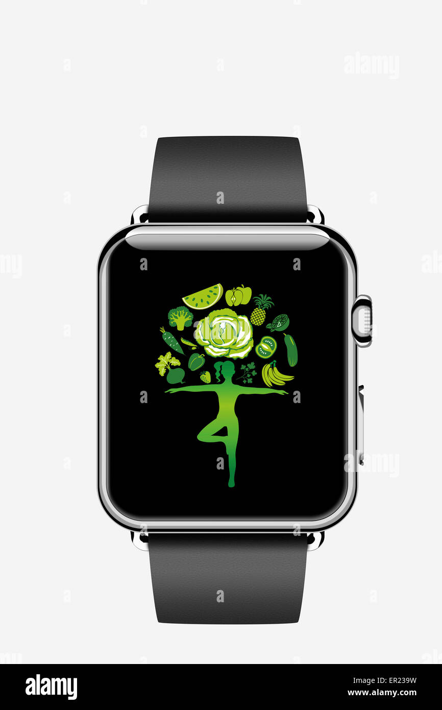 apple watch smartwatch smart watch iwatch - Stock Image