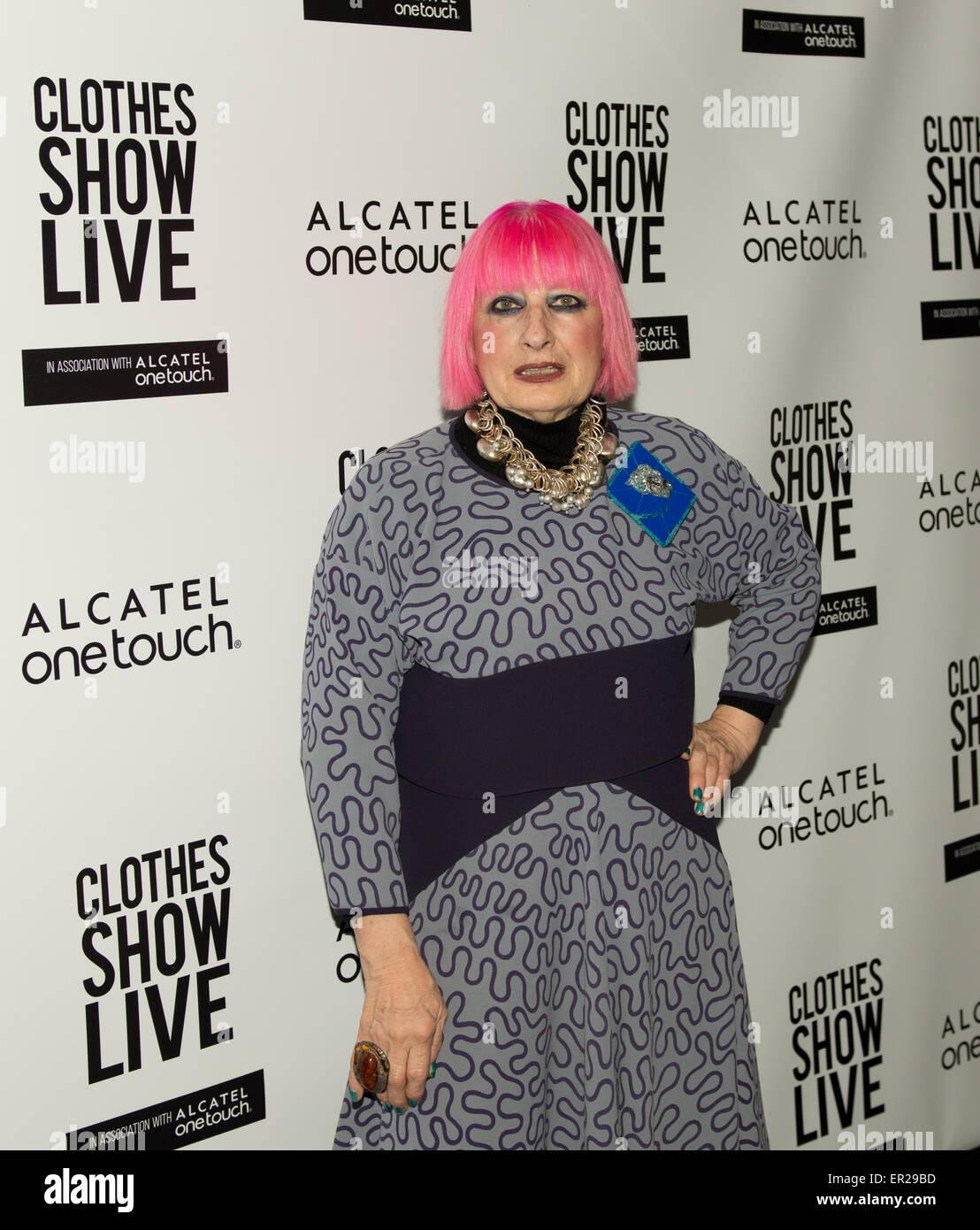 Birmingham Uk 5 December World Famous Fashion Designer Zandra Stock Photo Alamy