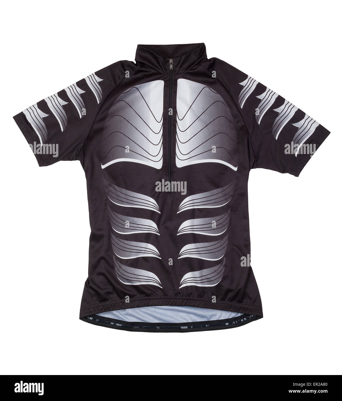 cycling vest isolated - Stock Image