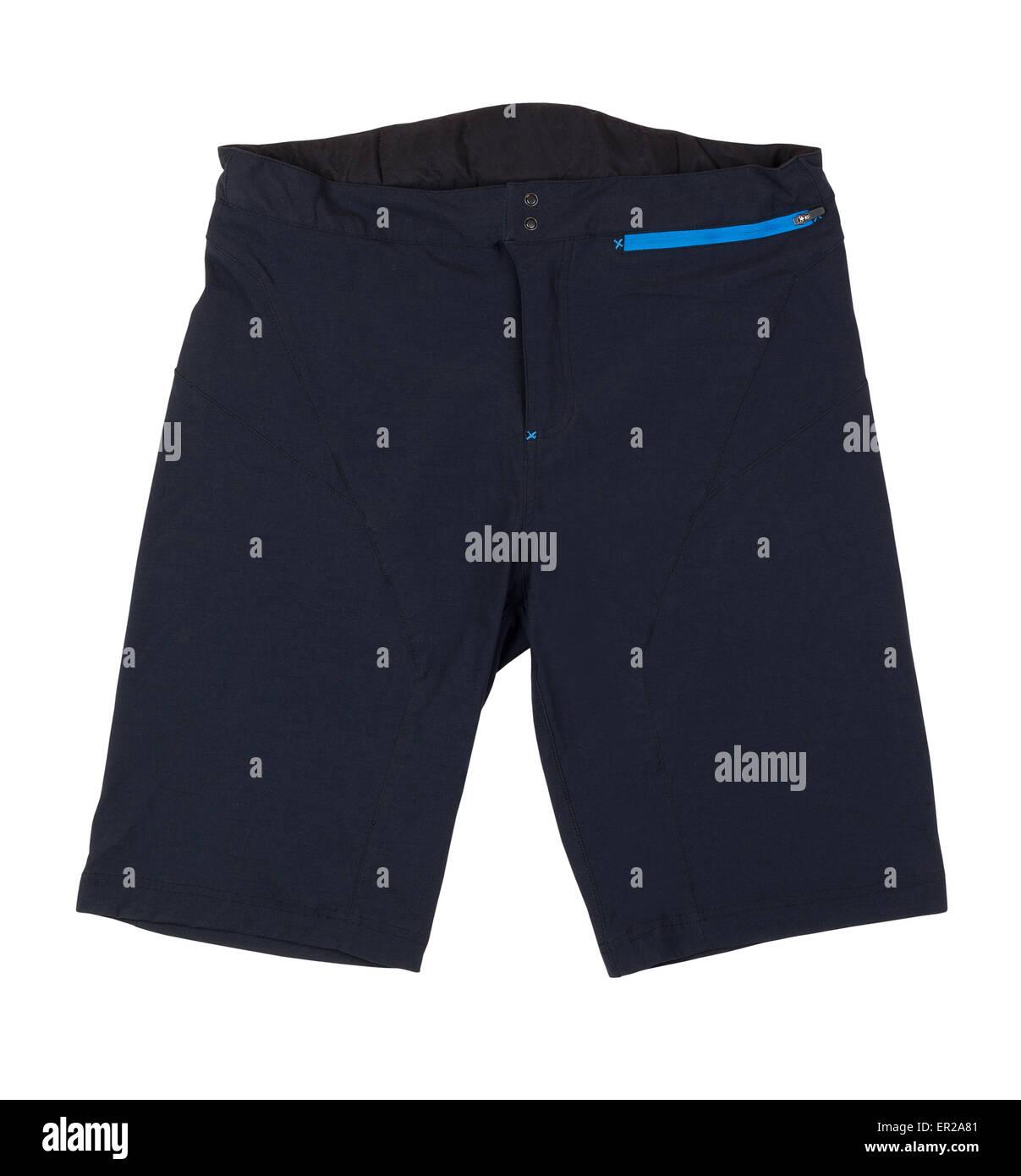 cycling shorts isolated - Stock Image