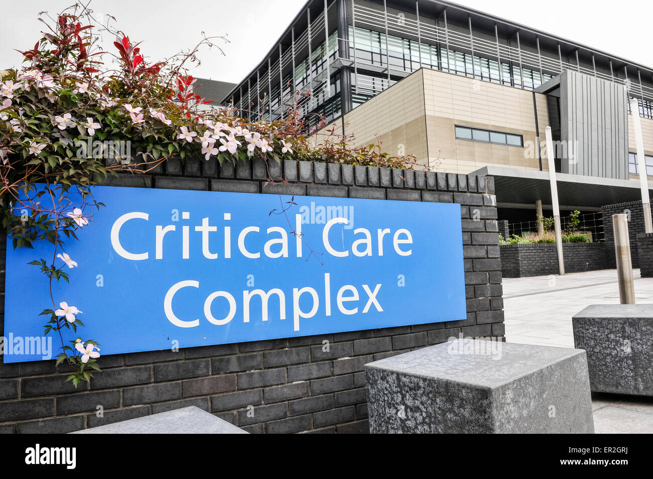 Critical Care Complex of the Ulster Hospital, Belfast Stock Photo
