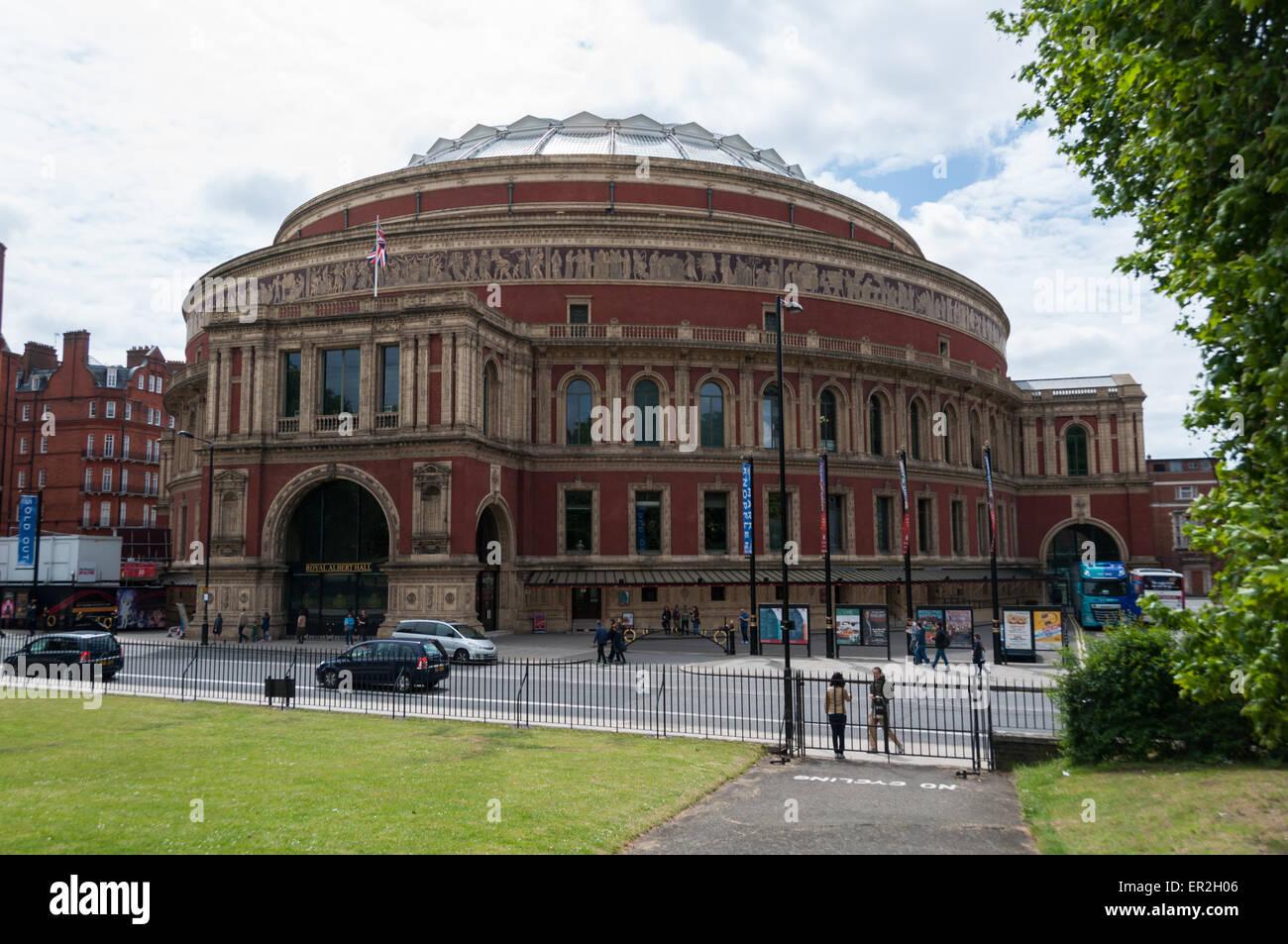 The Royal Albert Hall, London, England - Stock Image