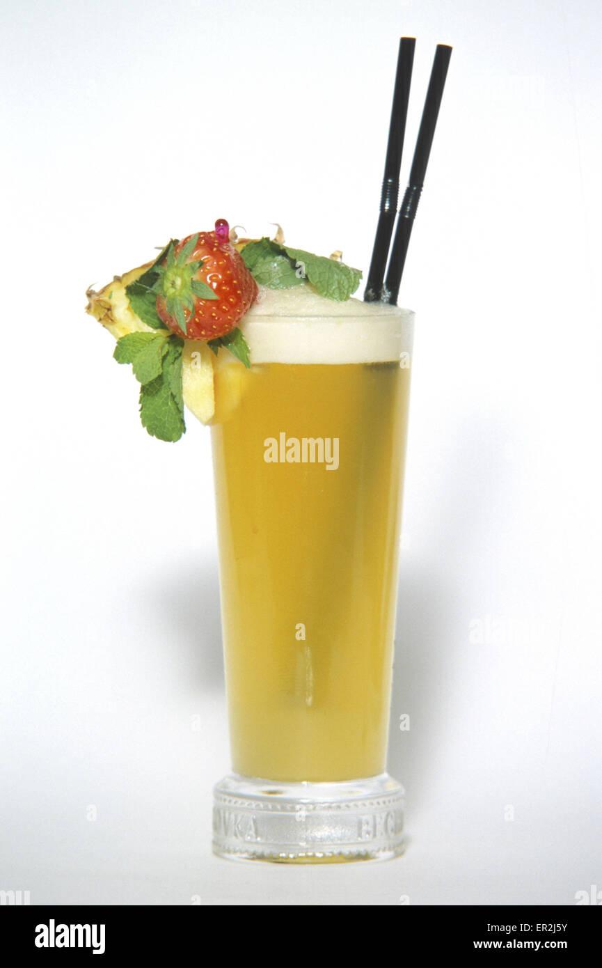 Cocktail Mixgetraenke Glas Trinken Alkoholfrei Getraenke Stock Photo ...