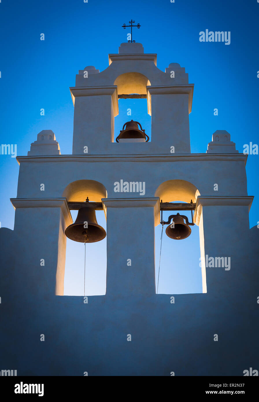 Mission San Juan Capistrano in San Antonio, Texas Stock Photo