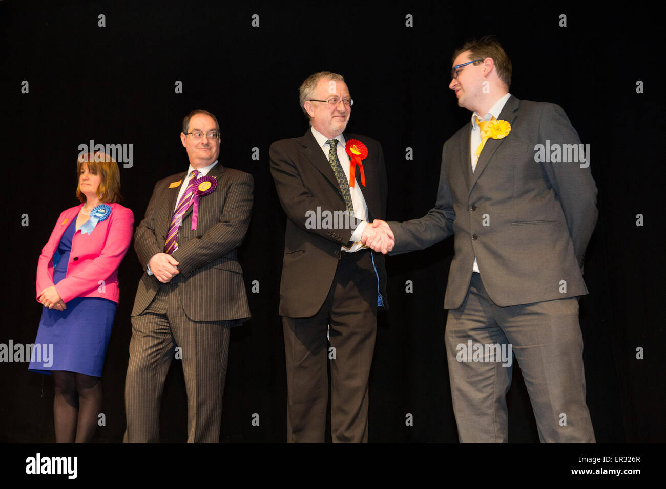 dbcc1e5d1 Richard Burden, third from left, Member of Parliament for Birmingham  Northfield being re-