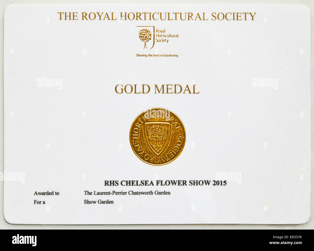 The royal horticultural society chelsea flower show gold - Chelsea flower show gold medals ...