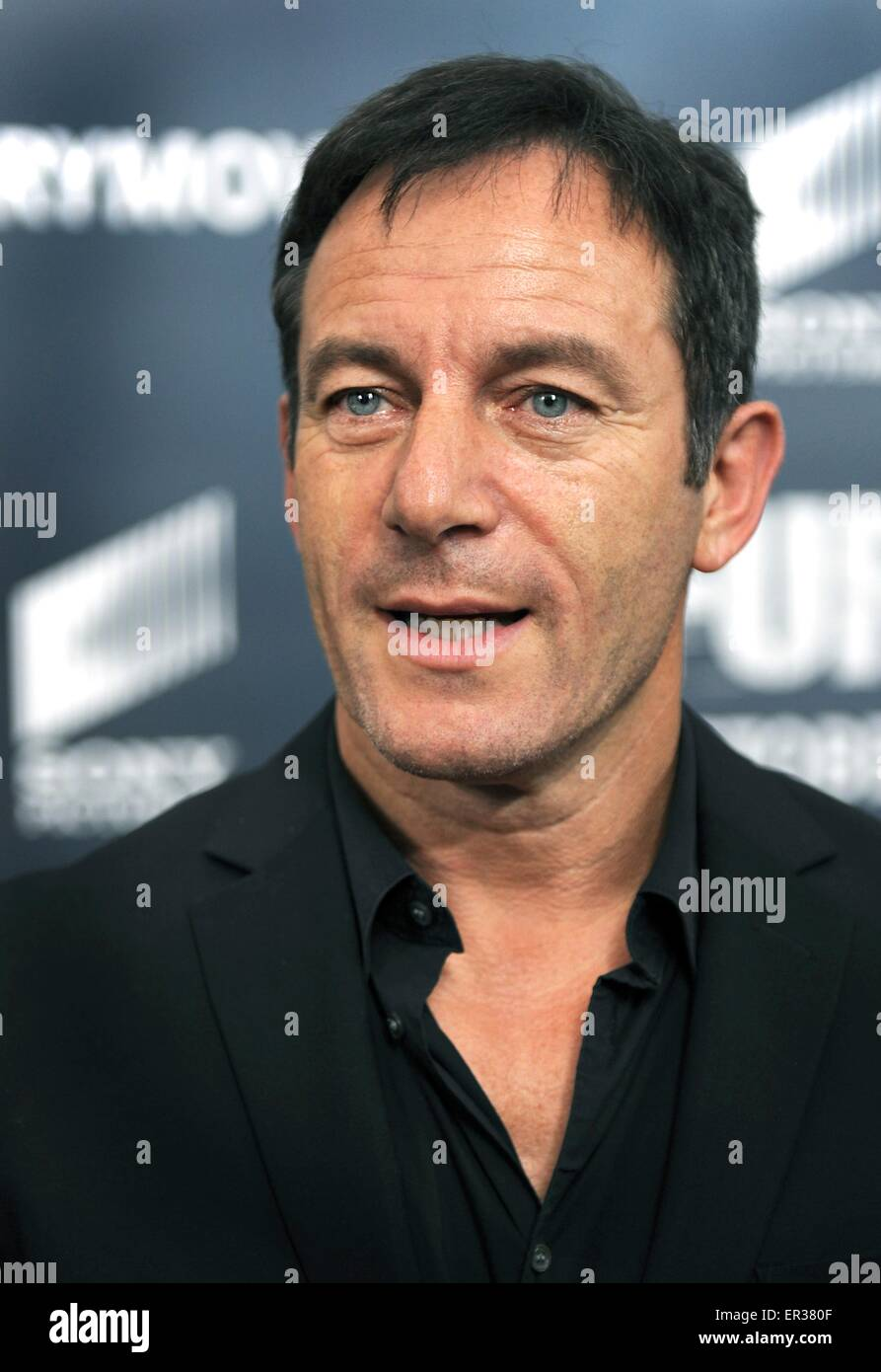 Actor Jason Isaacs at the premier of the blockbuster movie Fury at the Newseum October 21, 2014 in Washington D.C. - Stock Image