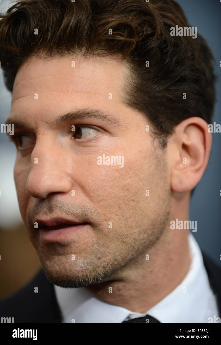 Actor Jon Bernthal at the premier of the blockbuster movie Fury at the Newseum October 21, 2014 in Washington D.C. - Stock Image
