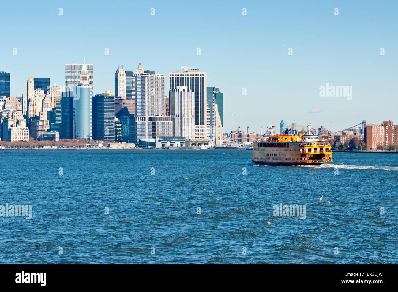 Staten Island Ferry Rain