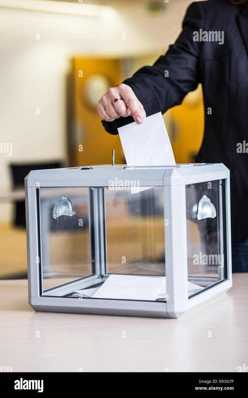 Ballot box. - Stock Image