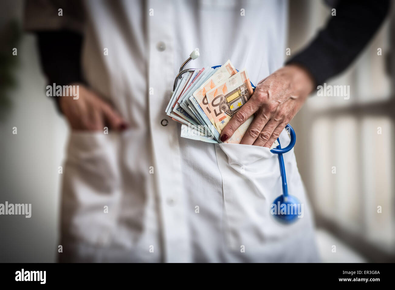 Medical and money. - Stock Image